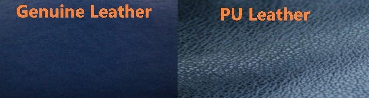 Genuine Leather vs Pu Leather